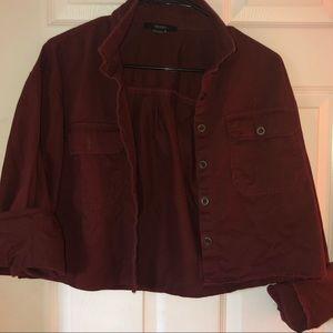 Marroon Women's Jacket
